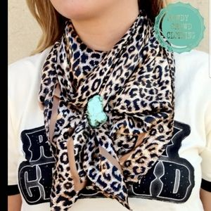 Liberty Leopard Wild Rag